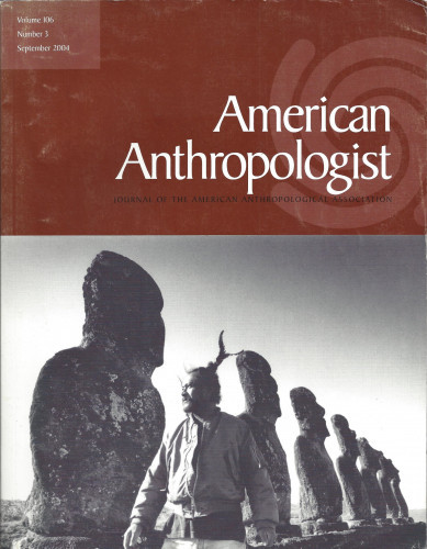 American Anthropologist, 2004